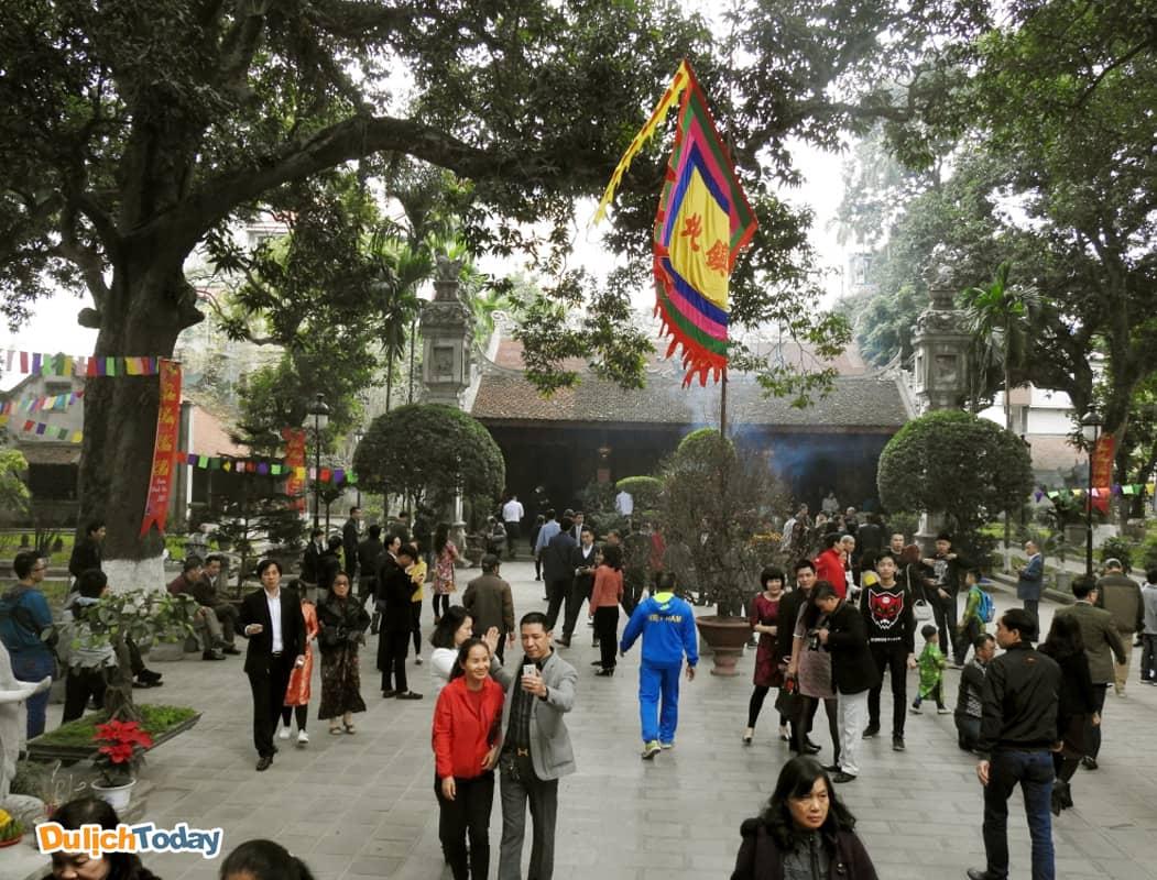 Đền Quán Thánh - địa điểm du xuân ở Hà Nội