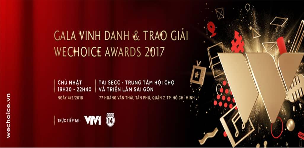 Gala trao giải và vinh danh Wechoice Awards 2017
