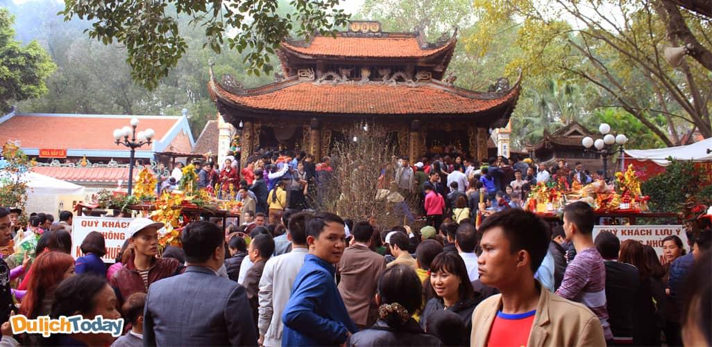 Lễ hội bà chúa kho - địa điểm du xuân gần Hà Nội