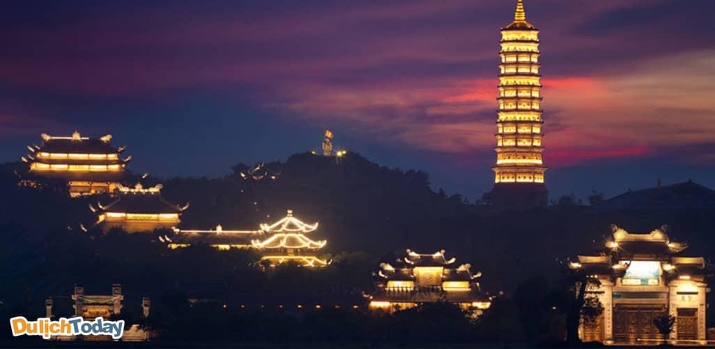 Lễ hội chùa Bái Đính - địa điểm du xuân gần Hà Nội
