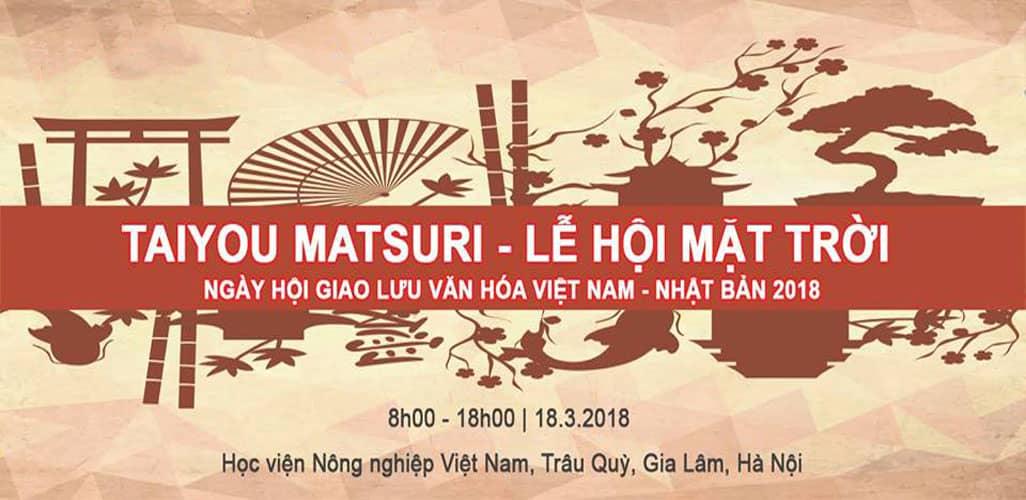 Lễ hội văn hóa Việt Nam Nhật Bản - Taiyou Matsuri 2018
