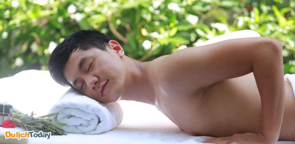 Massage Hương Sen - Massage body nam lành mạnh Hà Nội