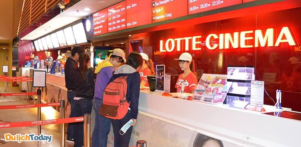 Rạp chiếu phim lotte cinema ở Hà Nội