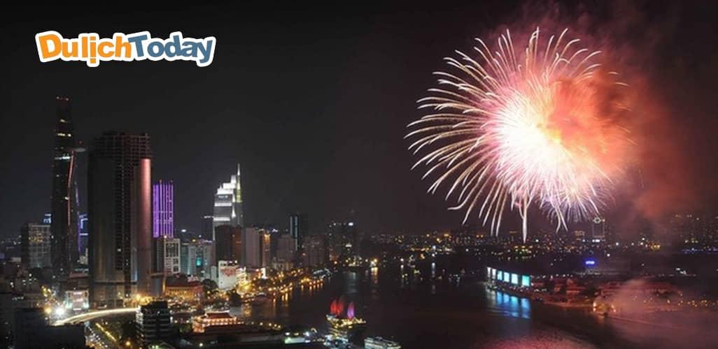 2 địa điểm bắn pháo hoa dịp lễ 30/4 - 1/5 tại TP. Hồ Chí Minh