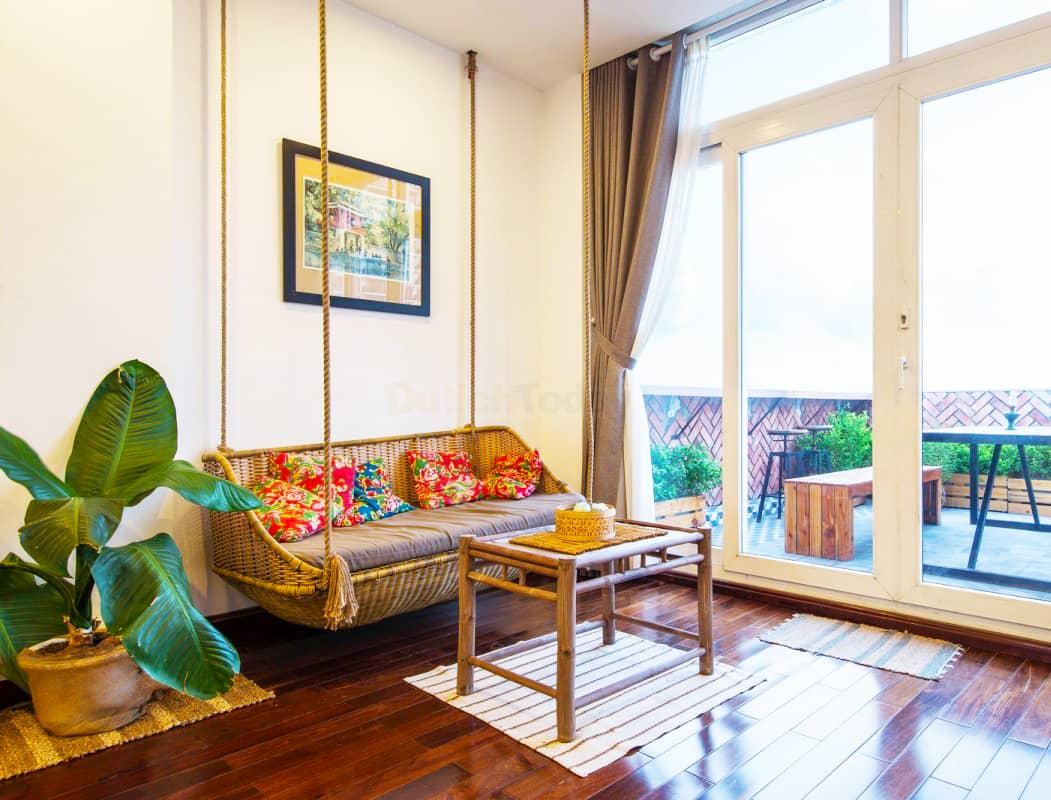 Au frais homestay với kiến trúc Á Đông độc đáo