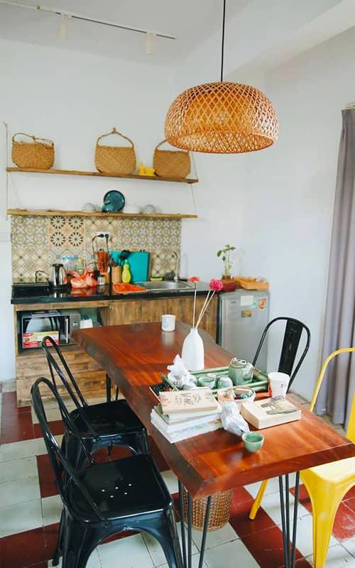 De9level5 homestay Hà Nội có bếp