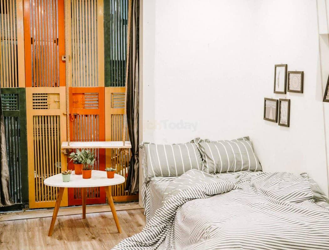 phòng ngủ tại Michi Homestay