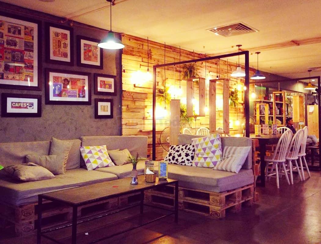 Trill Rooftop Cafe quán cafe trên cao ở Hà Nội