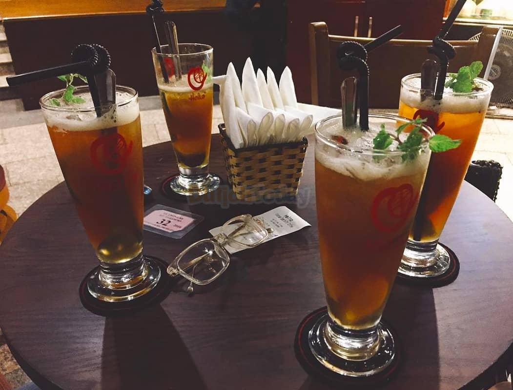 Đồ uống tại Helio Vietnam Specialty Coffee Hà Nội