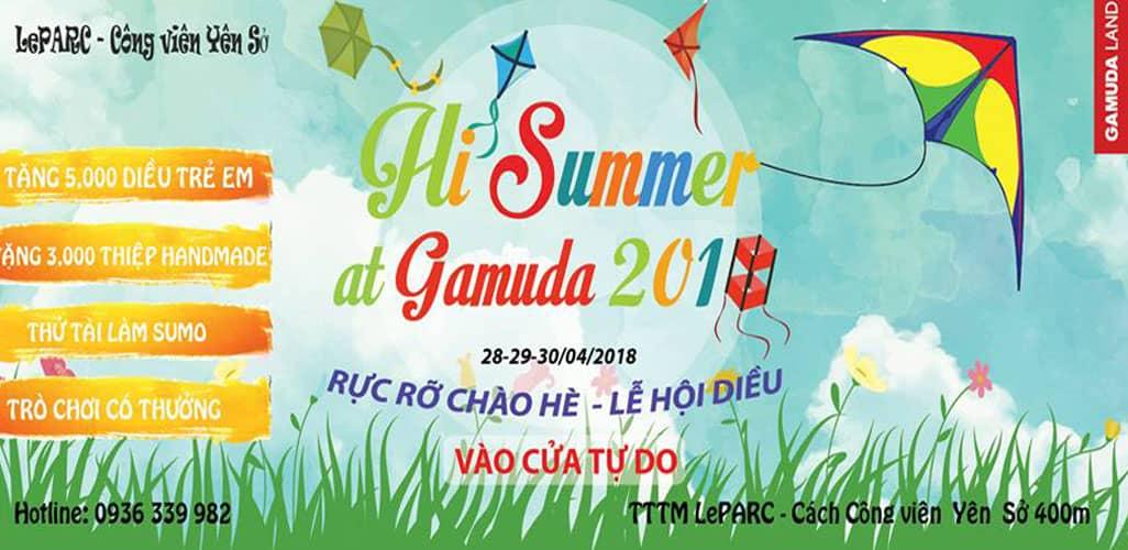 Lễ hội diều Gamuda 2018 - Rực rỡ chào hè