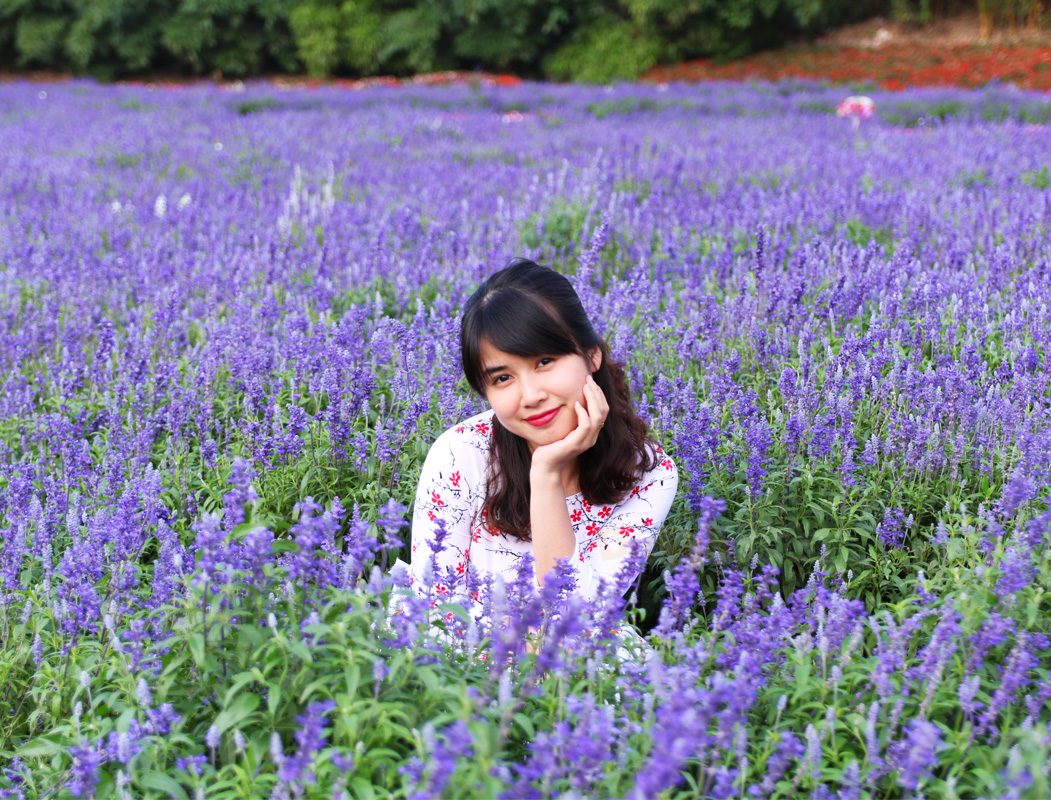 Thảm hoa xác pháo xanh và những tà áo dài tinh khôi