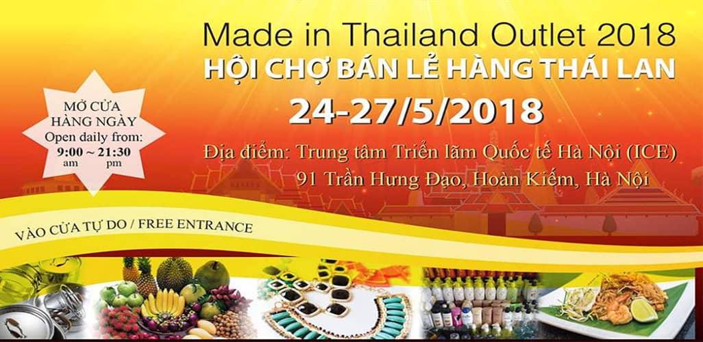 Hội chợ bán lẻ hàng tiêu dùng Thái Lan