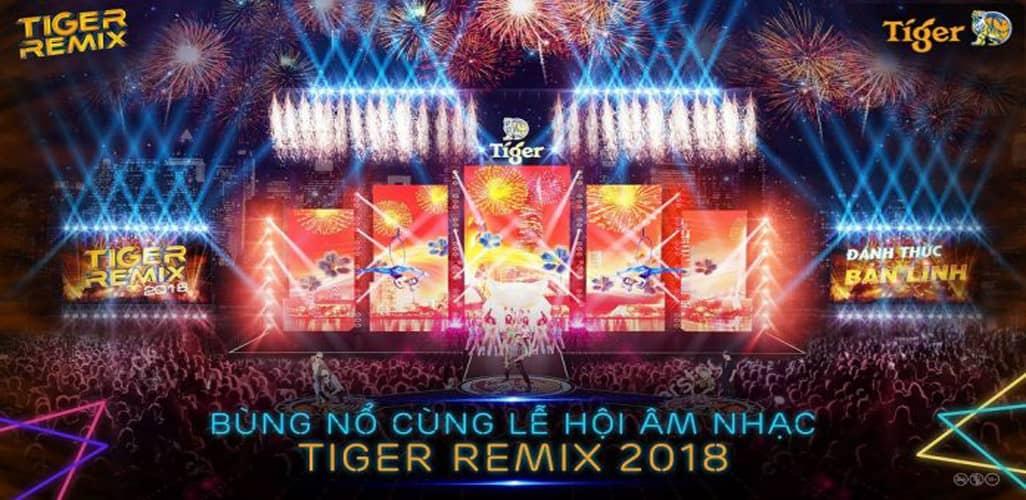 Lễ hội Âm nhạc Tiger Remix Hạ Long 2018