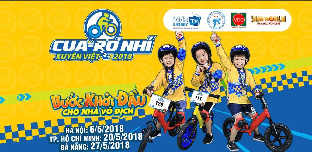 Giải đua Cua-rơ Nhí Xuyên Việt 2018