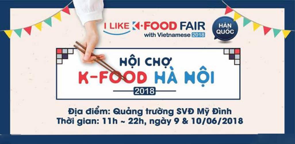 Hội chợ ẩm thực Hàn Quốc tại Hà Nội