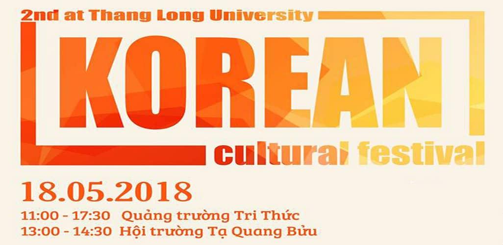 Lễ hội văn hóa Hàn Quốc - Đại học Thăng Long