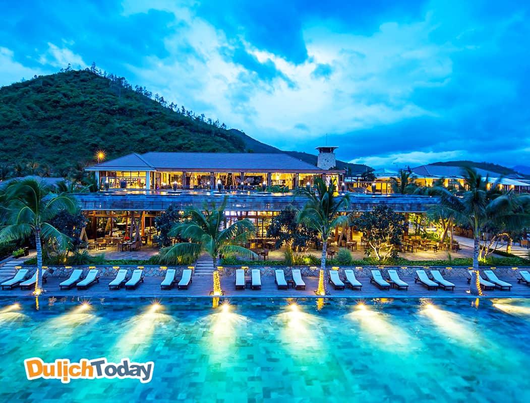 Nhà hàng tại Amiana resort với sức chứa lớn