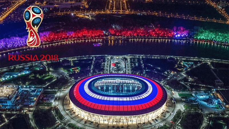 Sân vận động Luzhniki - nơi sẽ diễn ra trận đấu chung kết World Cup 2018