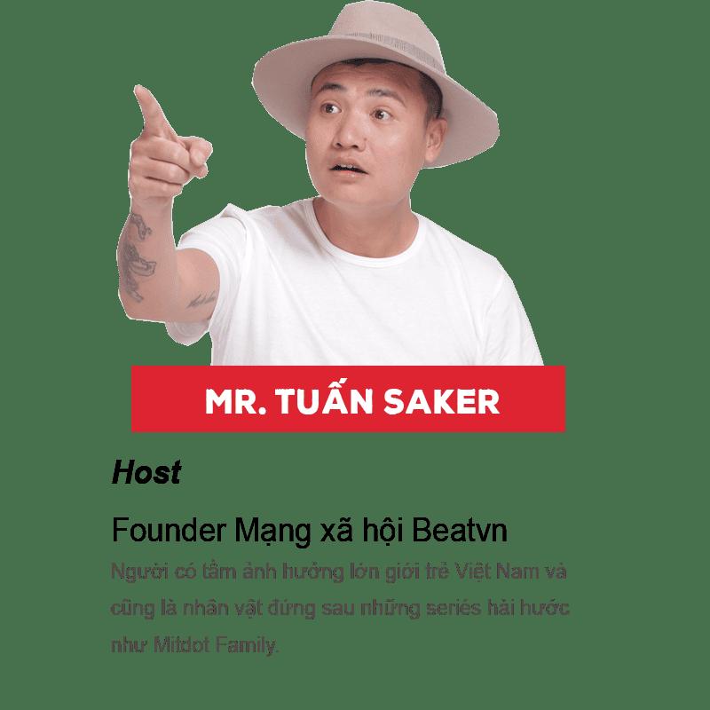 Tuấn Saker là ai?