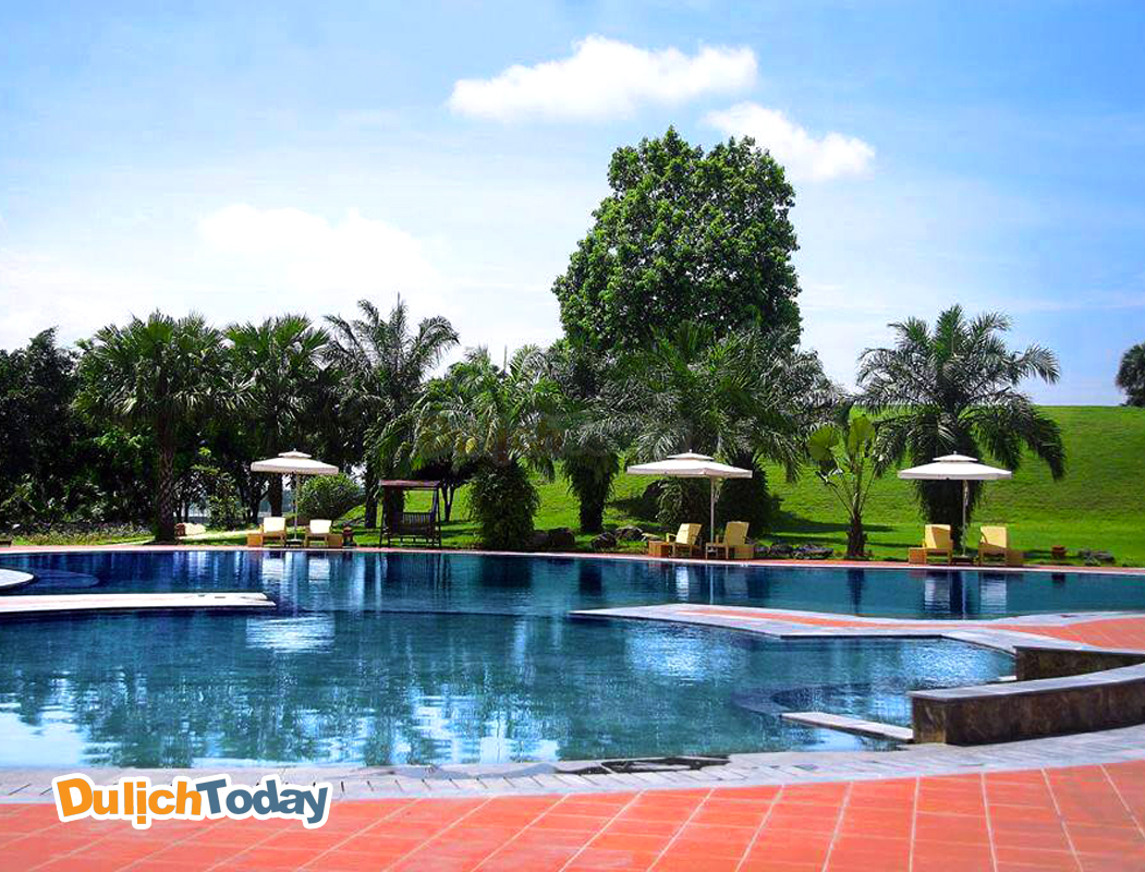 Thảo Viên Resort là địa điểm có khu bể bơi tiên tiến , hiện đại gần Hà Nội