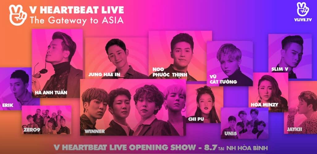 Đại nhạc hội V Heartbeat 2018