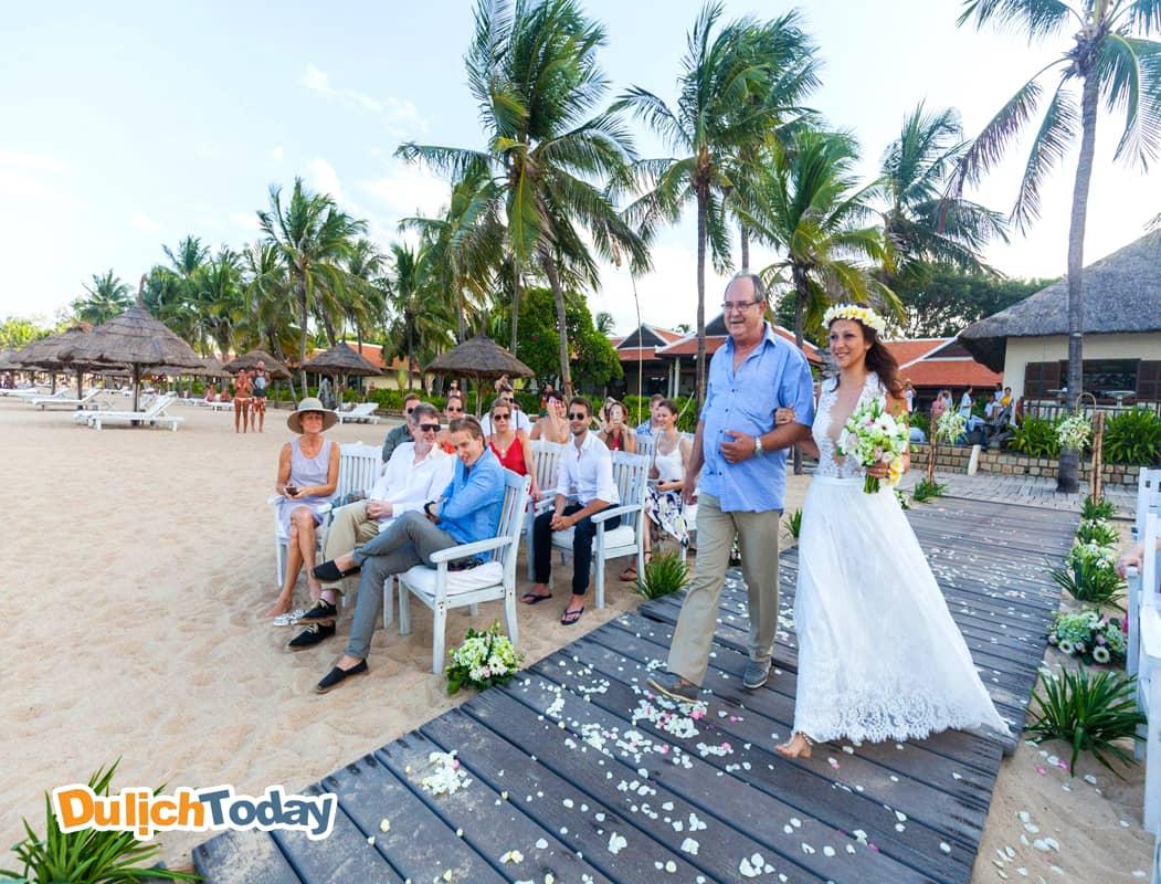 Nhiều du khách đã chọn Evarson resort làm nơi tổ chức lễ cưới