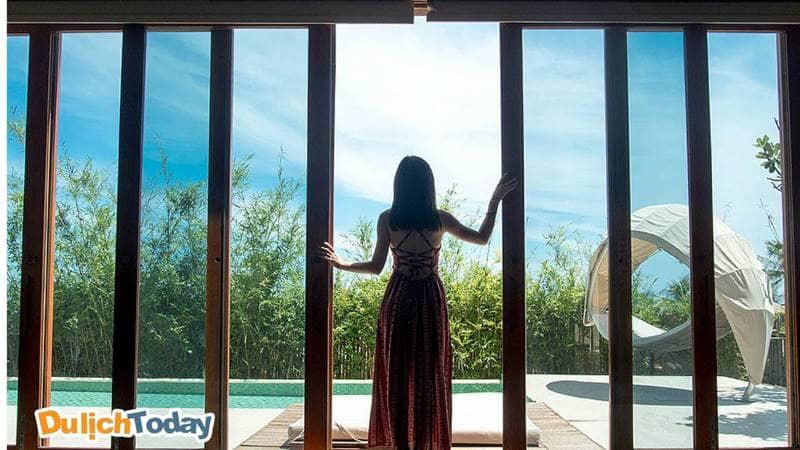 Mỗi villa tại Fusion là một không gian cực chất cho những ai ưa thích chụp ảnh
