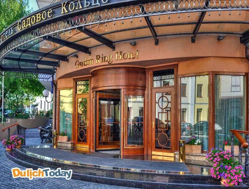Khách sạn Garden ring ở Moscow