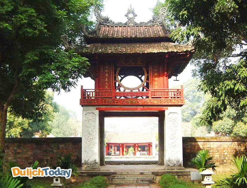 Quốc Tử Giám được coi là trường đại học đầu tiên của Việt Nam