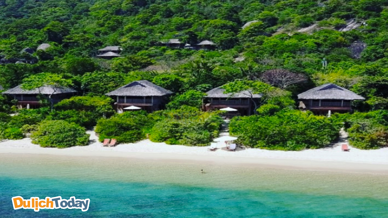khu du lịch 4 sao nổi tiếng ở đảo Hòn Tằm
