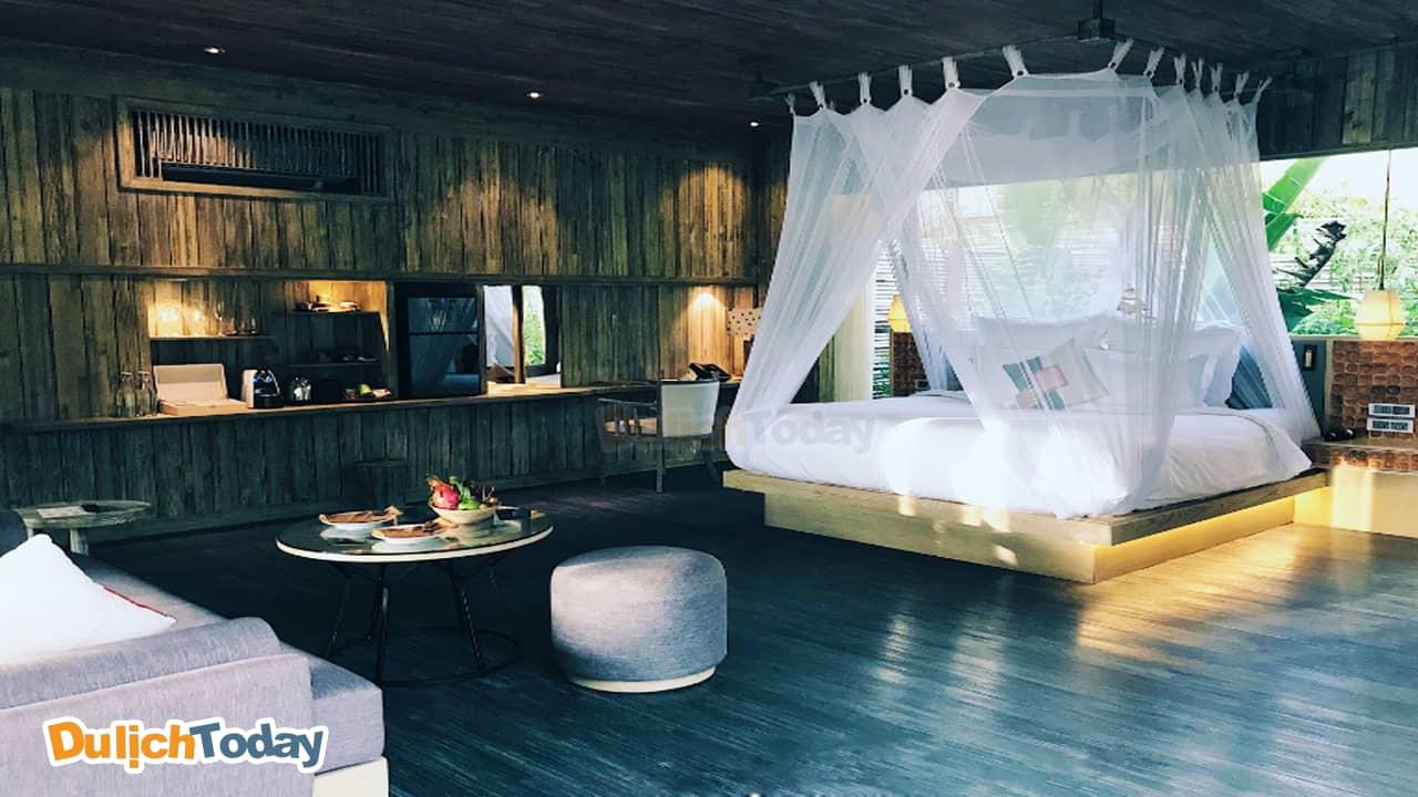 Phòng ngủ tại An Lâm Restreat resort Nha Trang