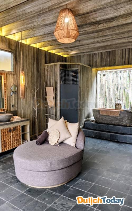 Phòng tắm tại An Lâm resort