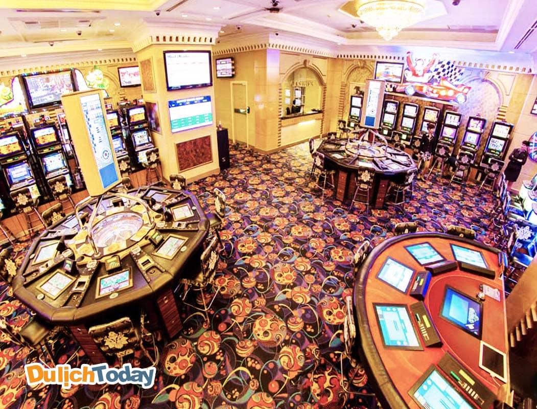 Một trong những điểm casino lớn nhất tại Việt Nam