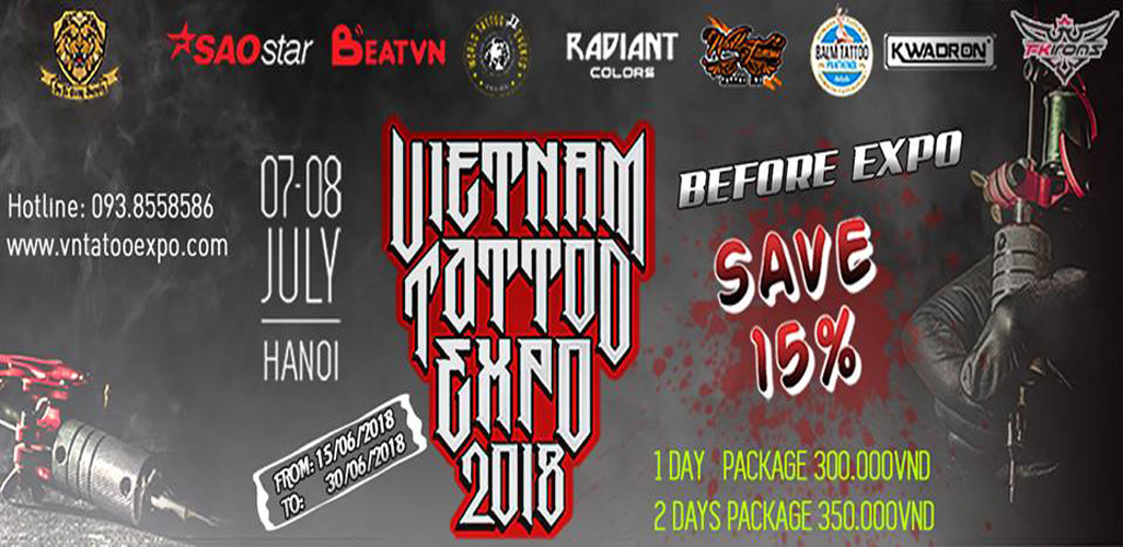 Vietnam Tattoo Expo 2018