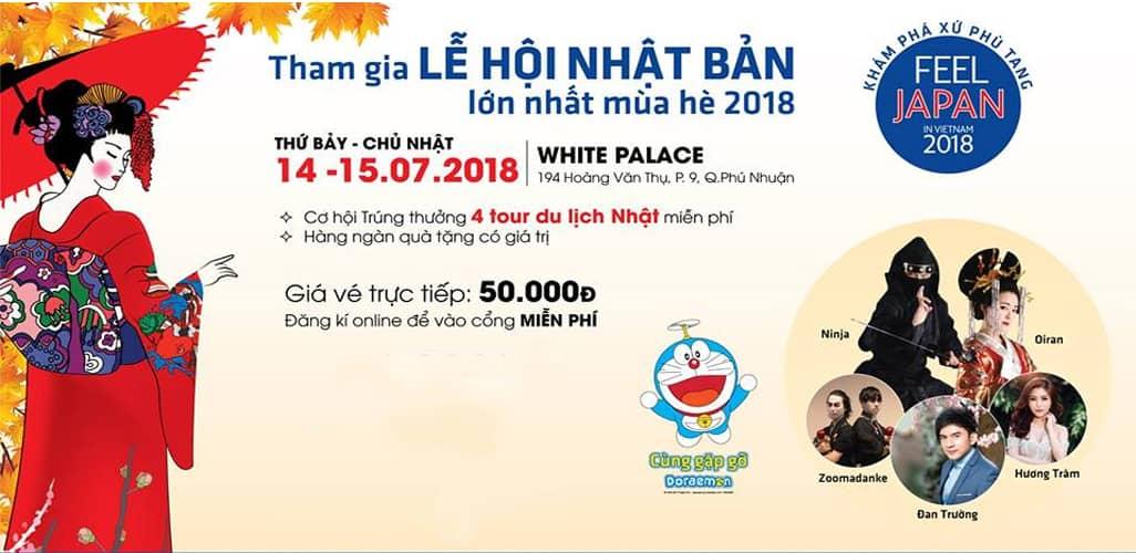 Lễ hội văn hóa Nhật Bản - FEEL JAPAN IN VIETNAM 2018