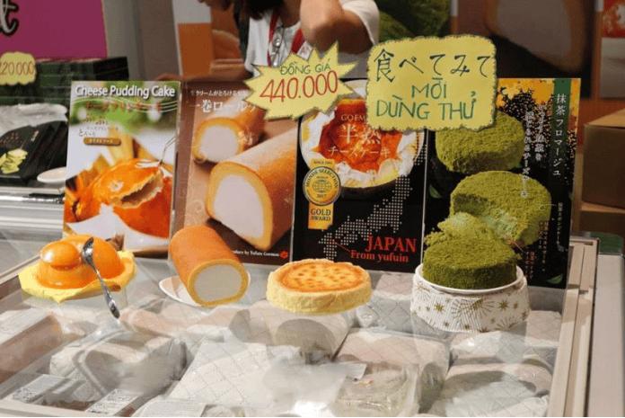 Gian hàng ẩm thực Nhật Bản