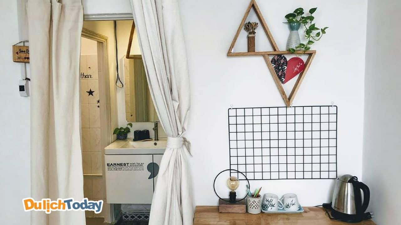 Phòng tại Annie homestay Nha Trang được trang trí vô cùng tinh tế