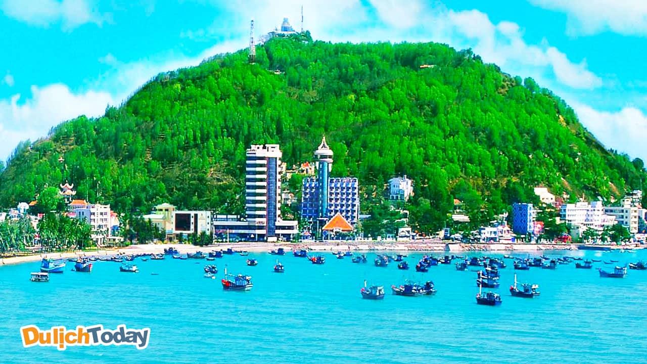 Bãi Trước - biểu tượng về cái đẹp của thành phố Vũng Tàu