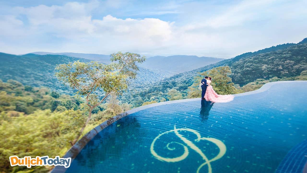 Belvedere Tam Đảo Resort làmột trong số những resort Tam Đảo có bể bơi đẹp nhất