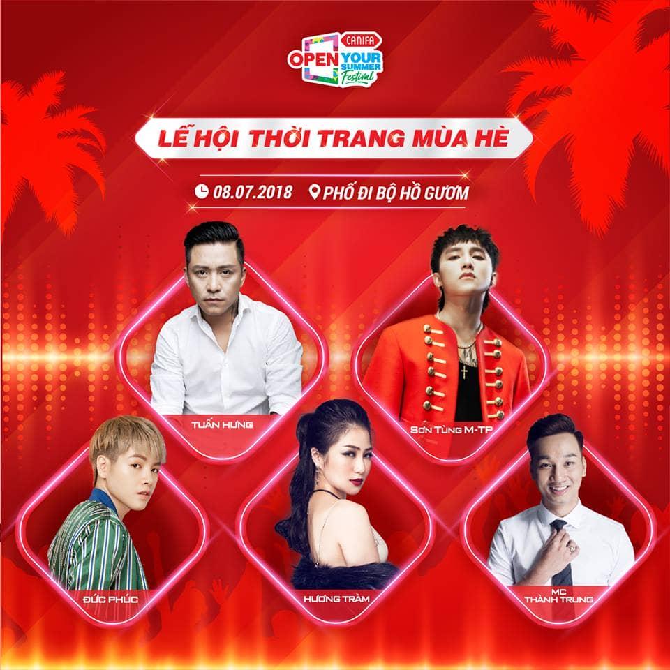 Các ca sĩ, nghệ sĩ nổi tiếng cũng góp mặt tại chương trình lần này