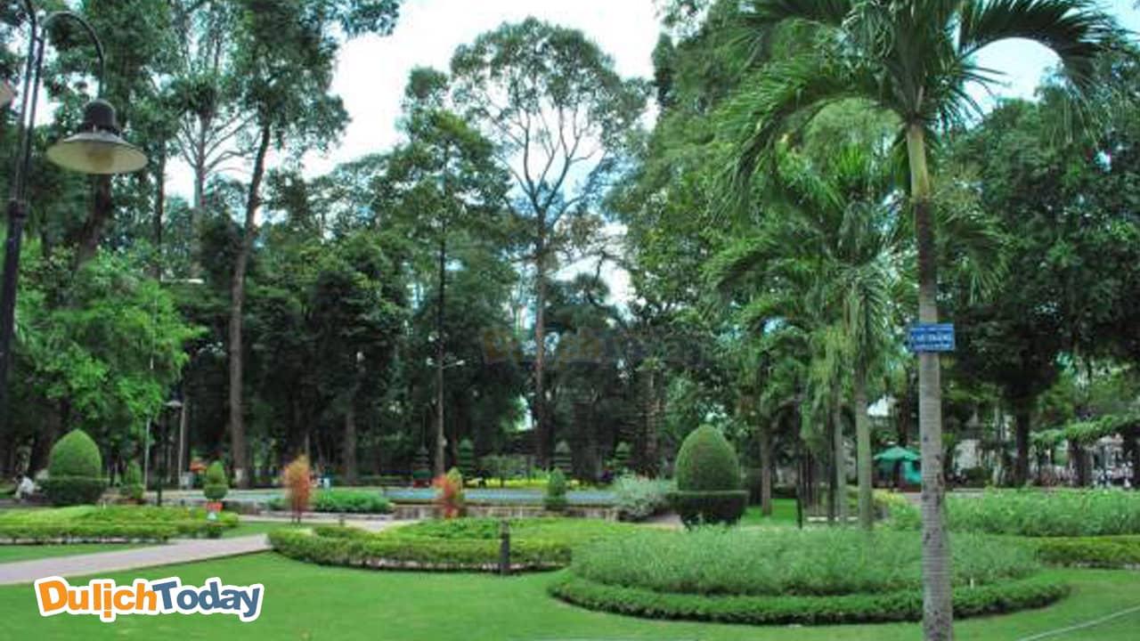 Công viên Đống Đa trở thành điểm đến của rất nhiều hội nhóm team building dưới 50 người.