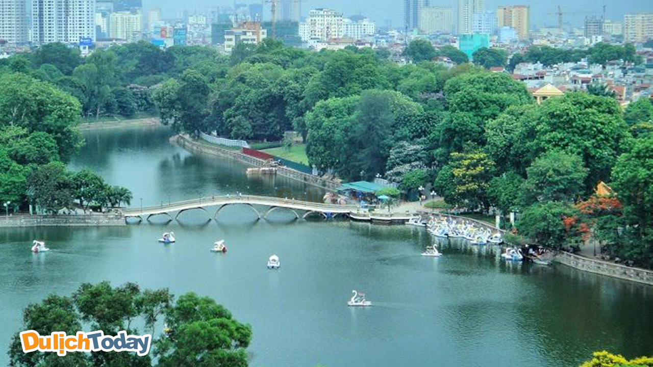 Công viên Thủ Lệ trở thành địa điểm lý tưởng để tổ chức team building cho dưới 50 người.