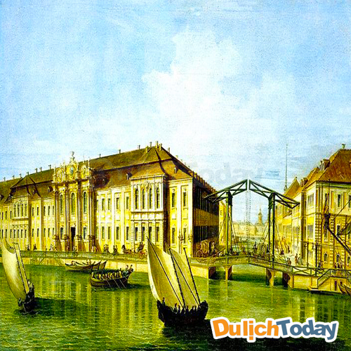 Cung điện Mùa Đông trở thành nguồn cảm hứng cho nhiều họa sỹ