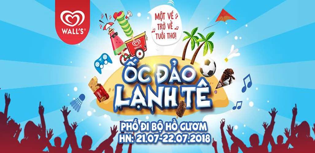 Đại tiệc Ốc đảo lạnh tê - Ăn kem thả ga 2018