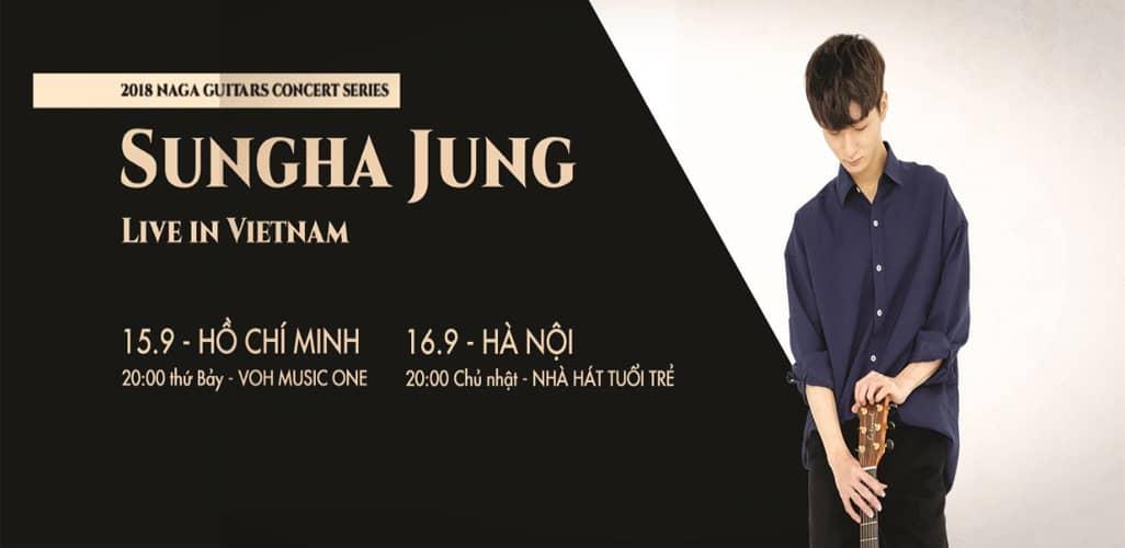 Đêm nhạc Sungha-Jung live tại Việt Nam 2018