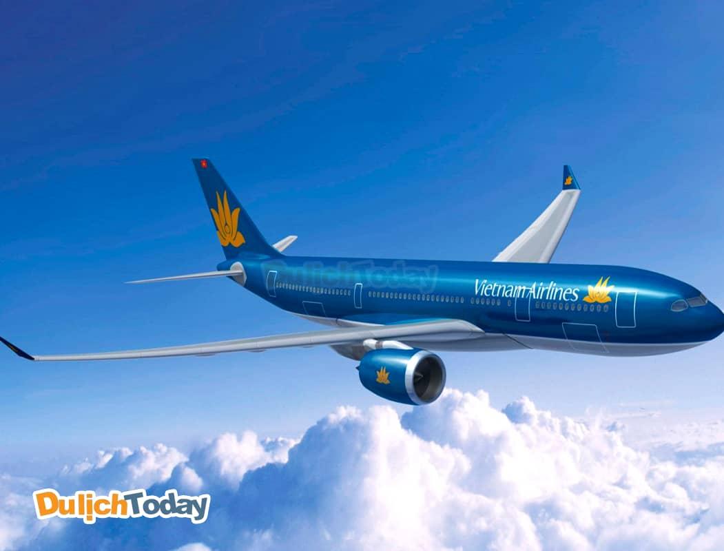 Di chuyển bằng máy bay từ Hà Nội đến Vũng Tàu