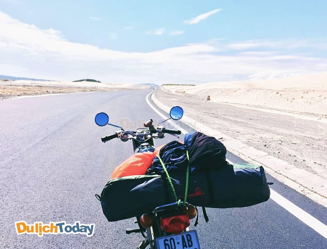 Di chuyển bằng xe máy đến Vũng Tàu