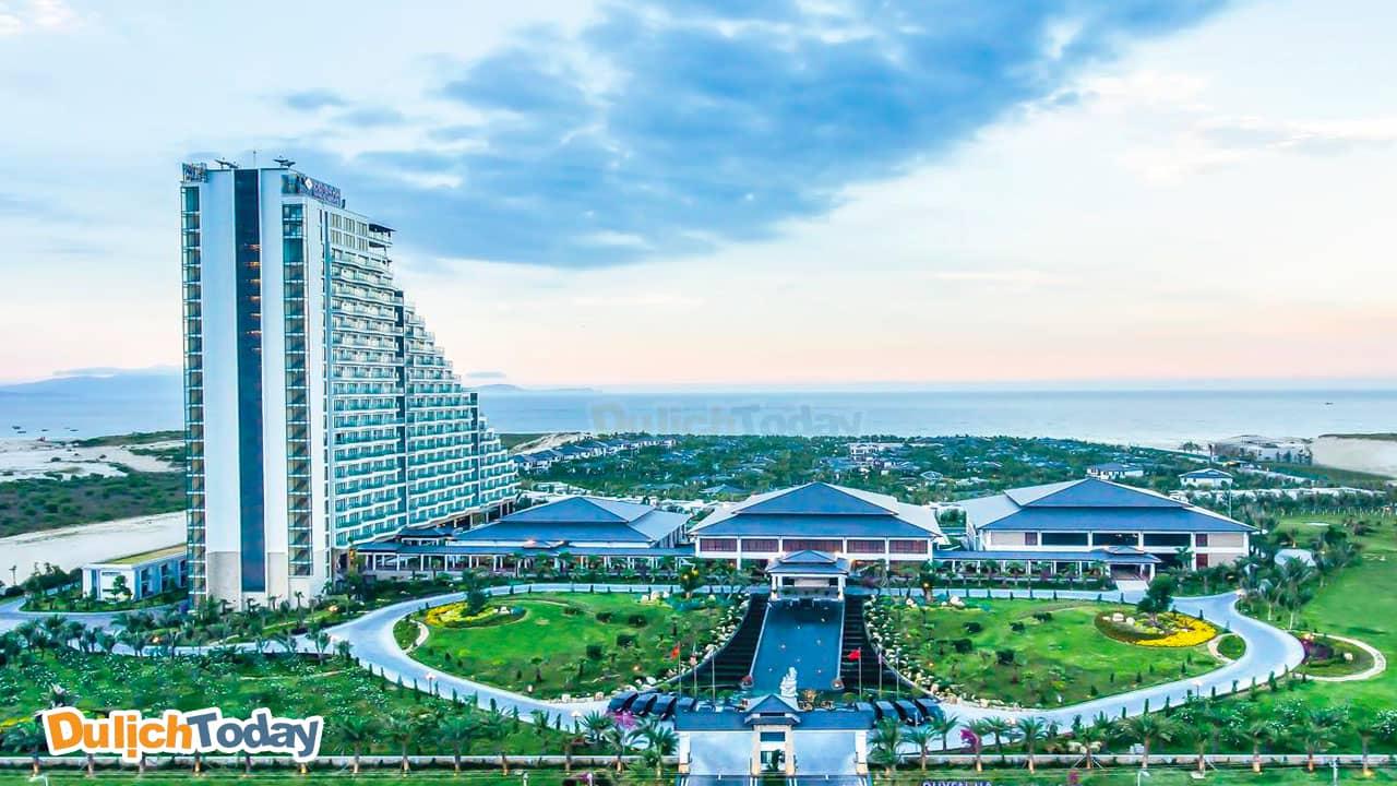 Toàn cảnh Duyên Hà resort Nha Trang