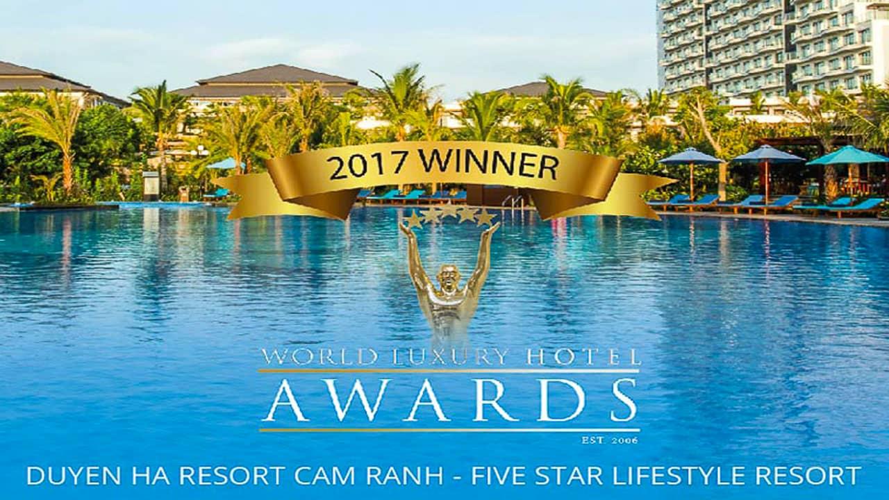 Duyên Hà resort đạt giải thưởng World luxury hotel Awards 2017