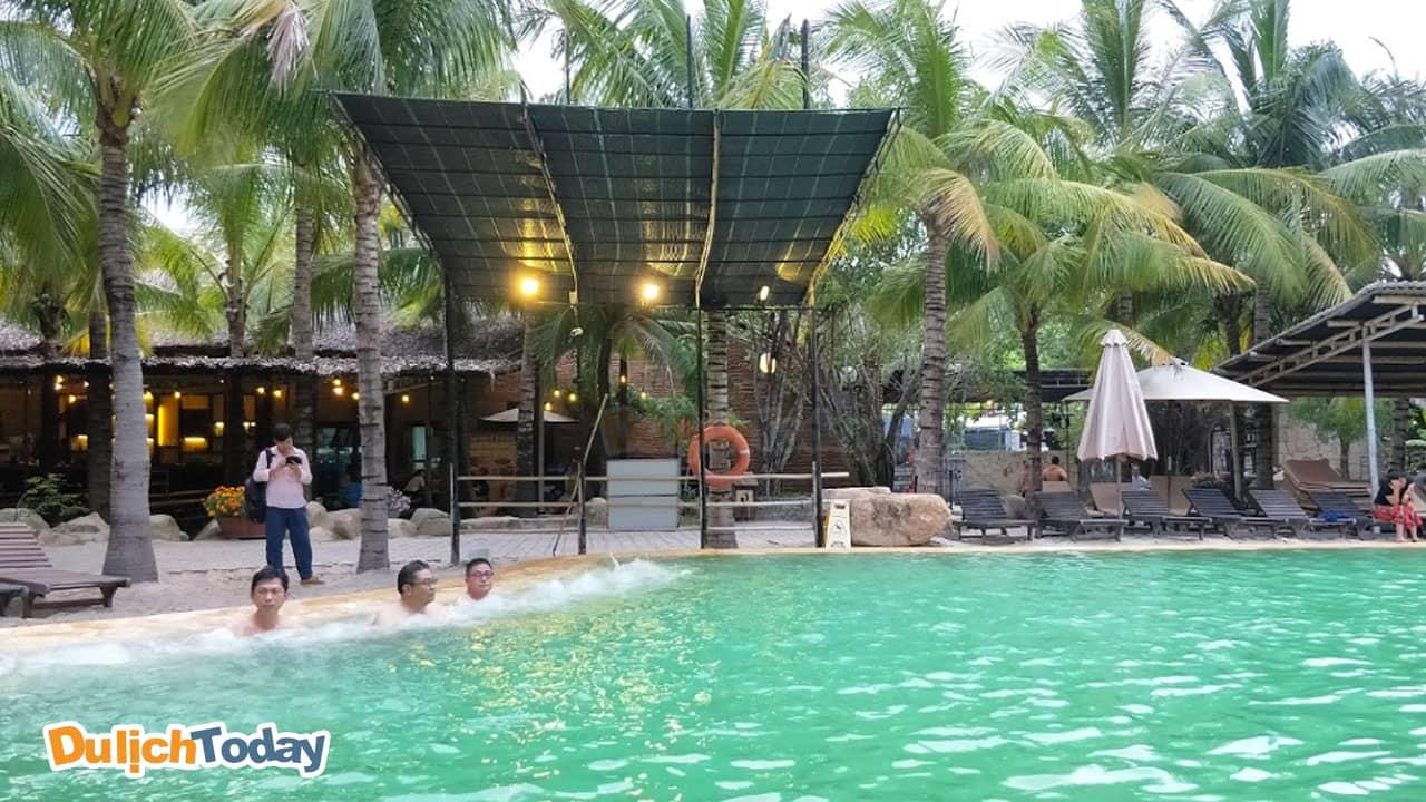 Tắm khoáng I - Resort Nha Trang